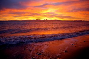 Dawn on the Sea of Cortez