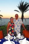 Carol & Lee Boyd at Meditarraneo