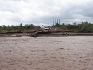 Mex 1 Loreto - Bridge Washout