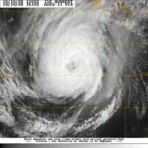 Category 4 Hurricane Norbert heads towards Baja California
