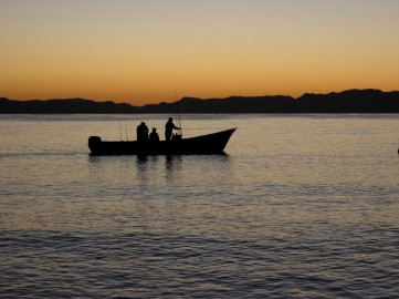 Daybreak, Loreto, August 2009