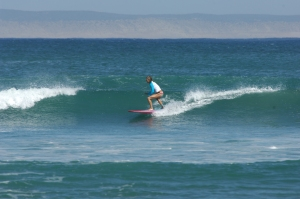 catharine surfing