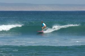 catharine surfing