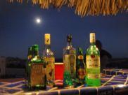 Full Moon over Emptied Bar