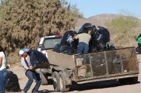 Filling up Trucks for the REAL Dump