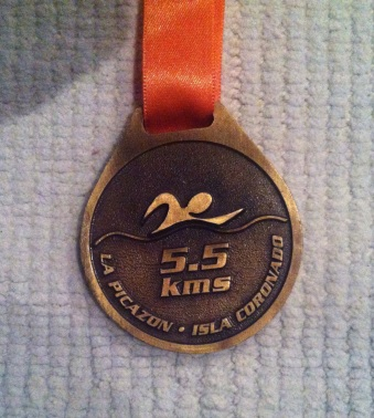 Swimmers (and SUP) medal :-)