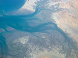 Sea of Cortez meets what's left of the Colorado River (ie, nothing)