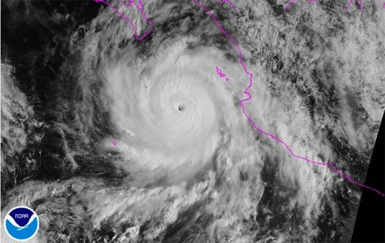 Hurricane Odile - Cat 4