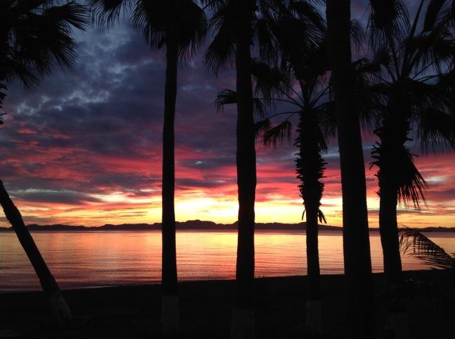 Sunrise, Loreto 21 January 2015