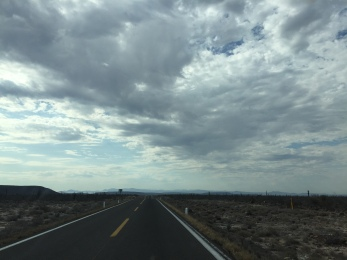 Newly Paved Segment of Mex 3