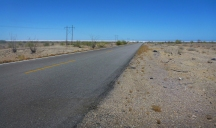Paved Portion Mex 3 toward San Felipe