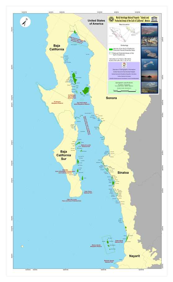 MAP supplement information Islands and Protected Areas of the Gulf of California2011.jpg