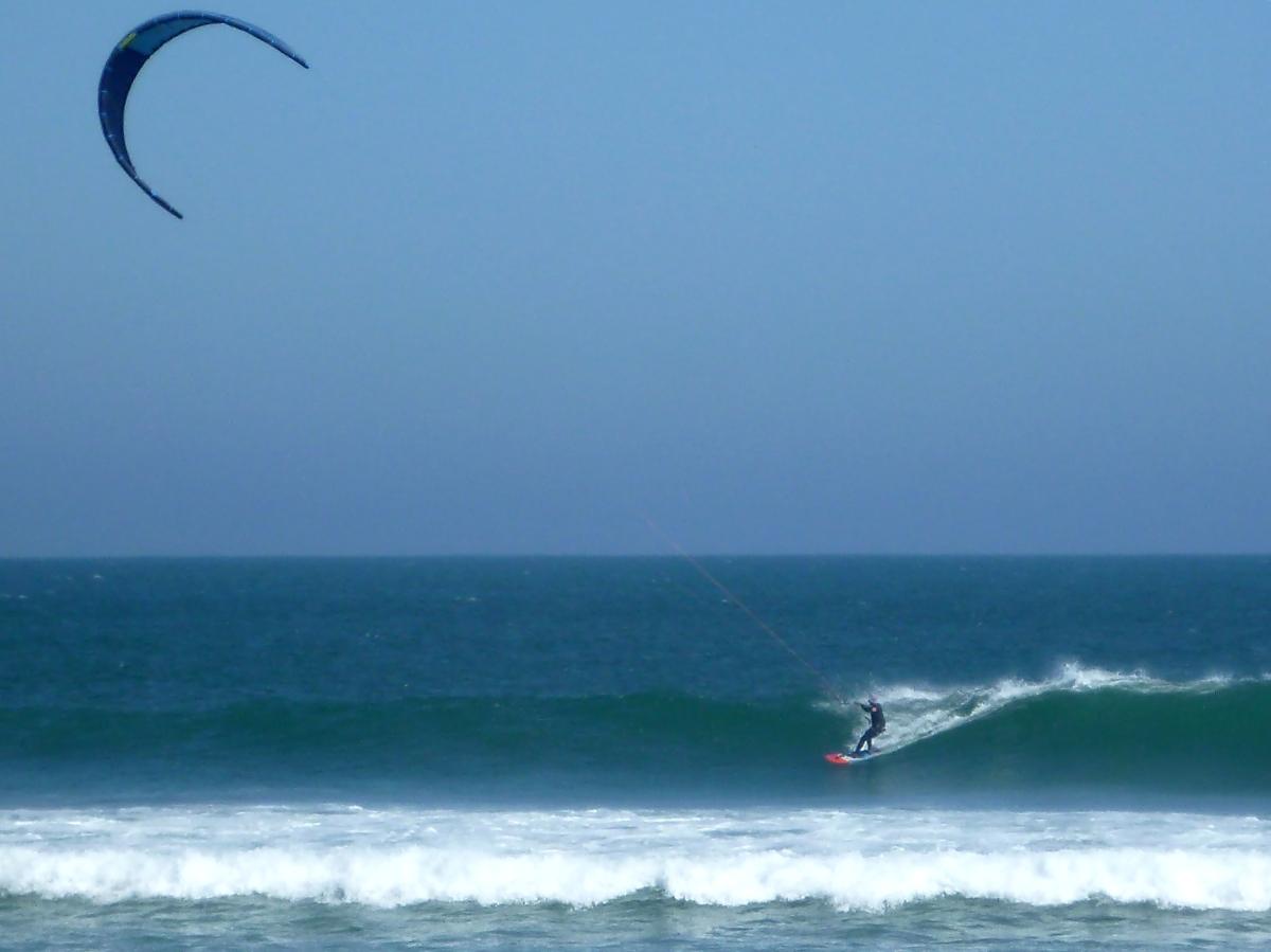 Kiting on the Baja Coast