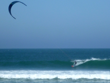 Kiting on the Baja Coast
